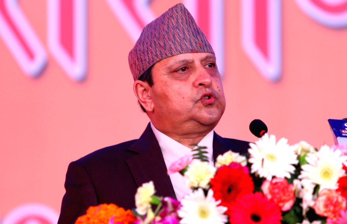 Former Nepal king Gyanendra in India to attend Kumbh.