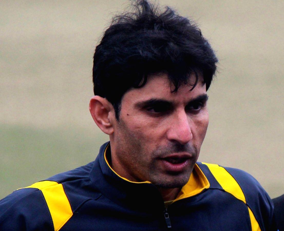Former Pakistan captain Misbah-ul-Haq. (File Photo: IANS)