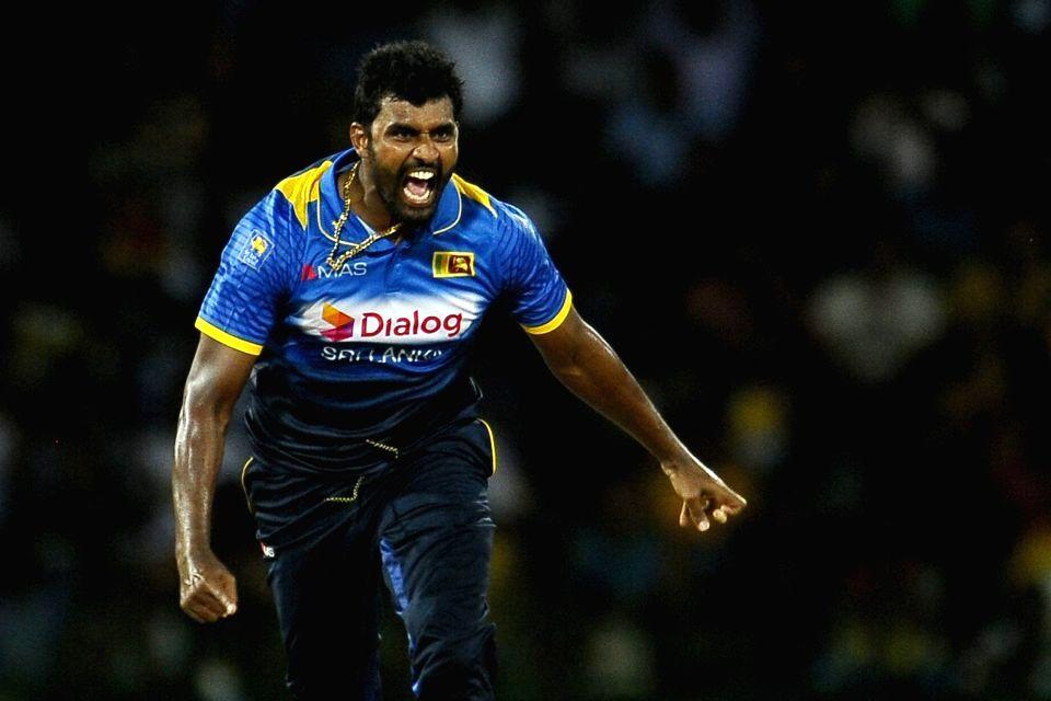 Former Sri Lanka skipper Thisara Perera calls it a day.(Photo:Twitter)