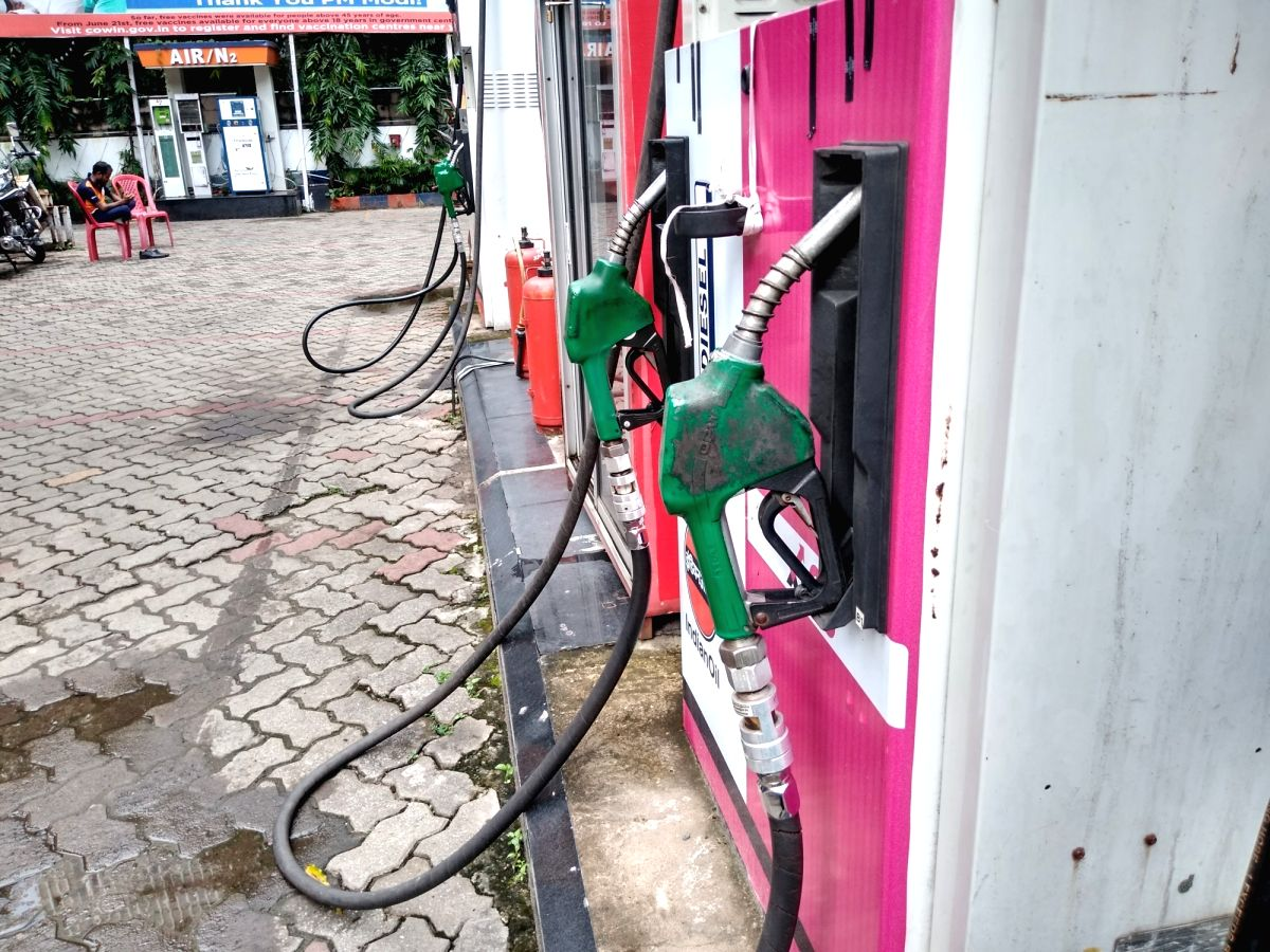 Fuel prices cut by 15 paise per litre after a week's break