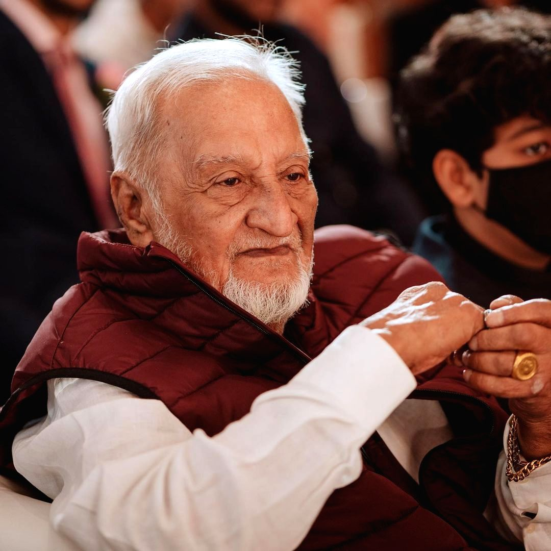 Gauahar Khan's father passes away.(photo:Instagram)