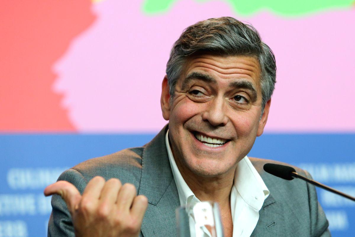 George Clooney. (Photo: Xinhua/Zhang Fan/IANS)