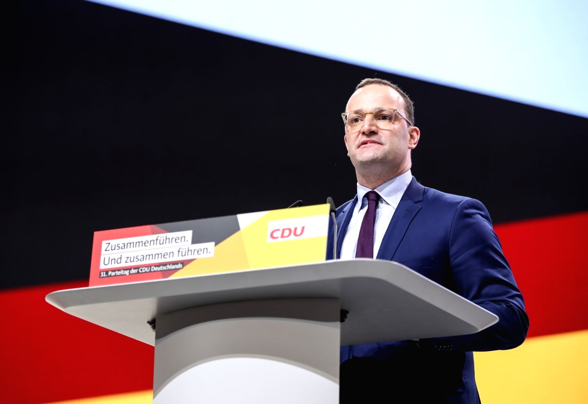 German health minister warns of second COVID-19 wave