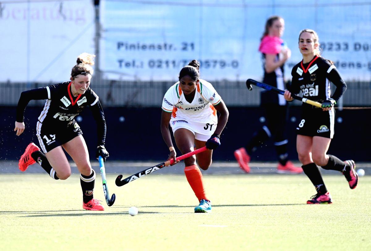 Germany thrash India 5-0 in first women's hockey match.