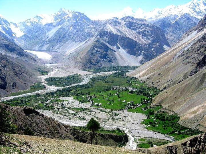 Gilgit Baltistan.