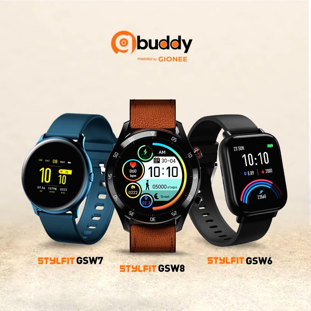 Gionee unveils STYLFIT GSW6, GSW8 smartwatches on Amazon