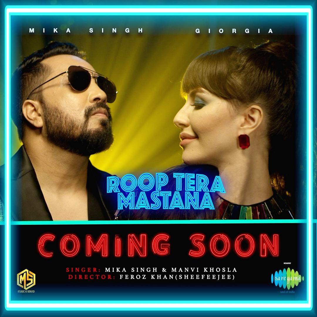 Giorgia Andriani on featuring in 'Roop tera mastana' remix video.