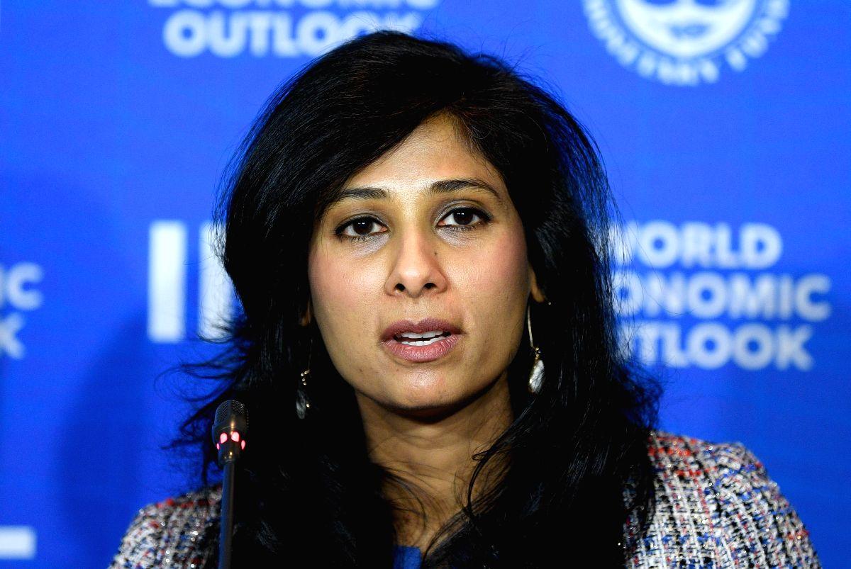 Gita Gopinath. (Xinhua/Jorge Villegas/IANS)