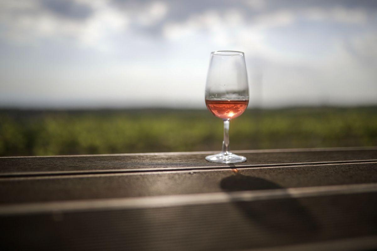 Glass of wine. (File photo: Xinhua/Dimitris Tosidis/IANS)