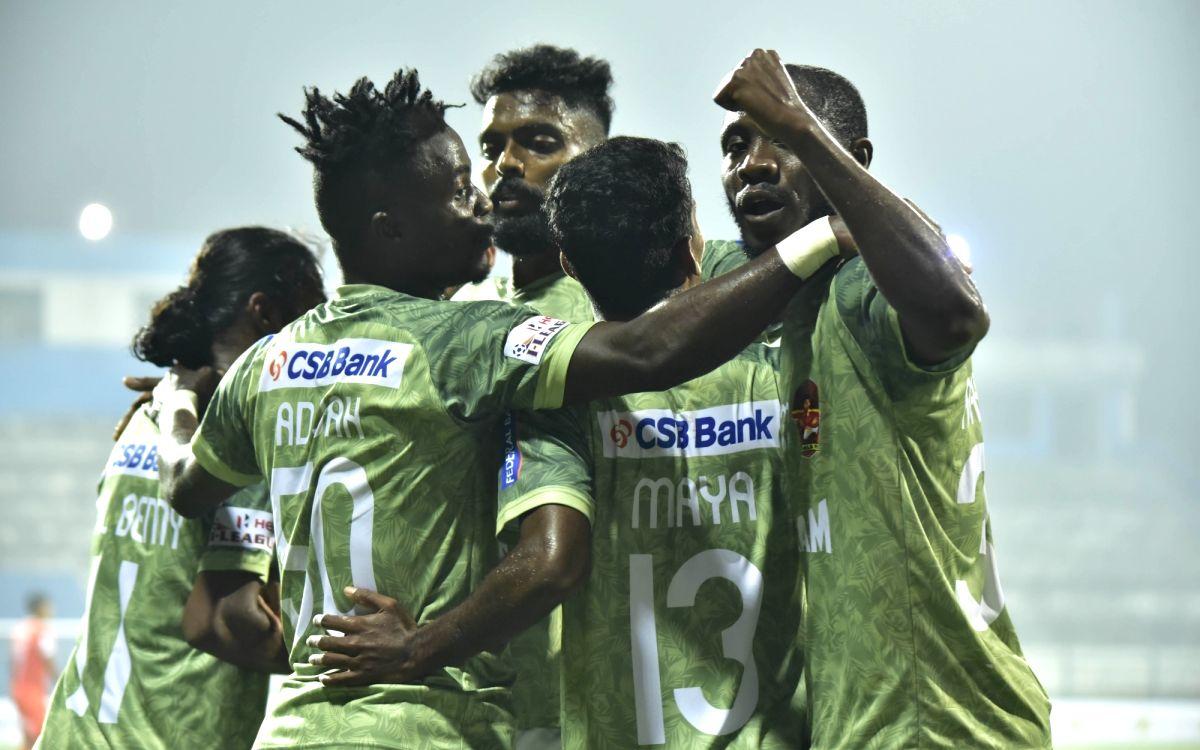 Gokulam Kerala steam past Neroca FC to move up in I-League