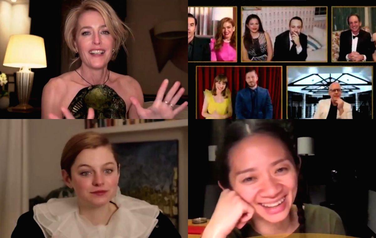 Golden Globes 2021: 'Nomadland', 'Borat' 'The Crown' win top honours.(photo:Twitter)