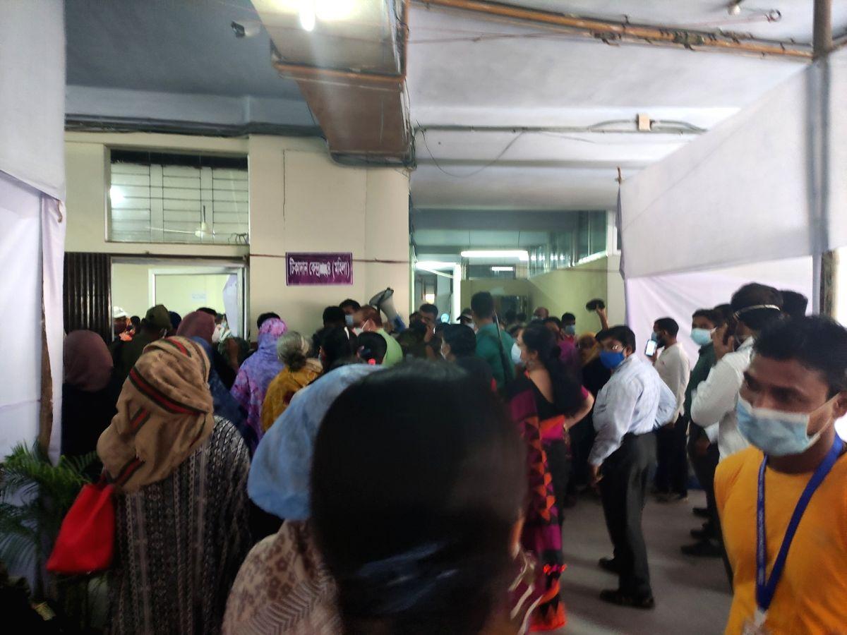 Good response to vaccination drive in Bangladesh.