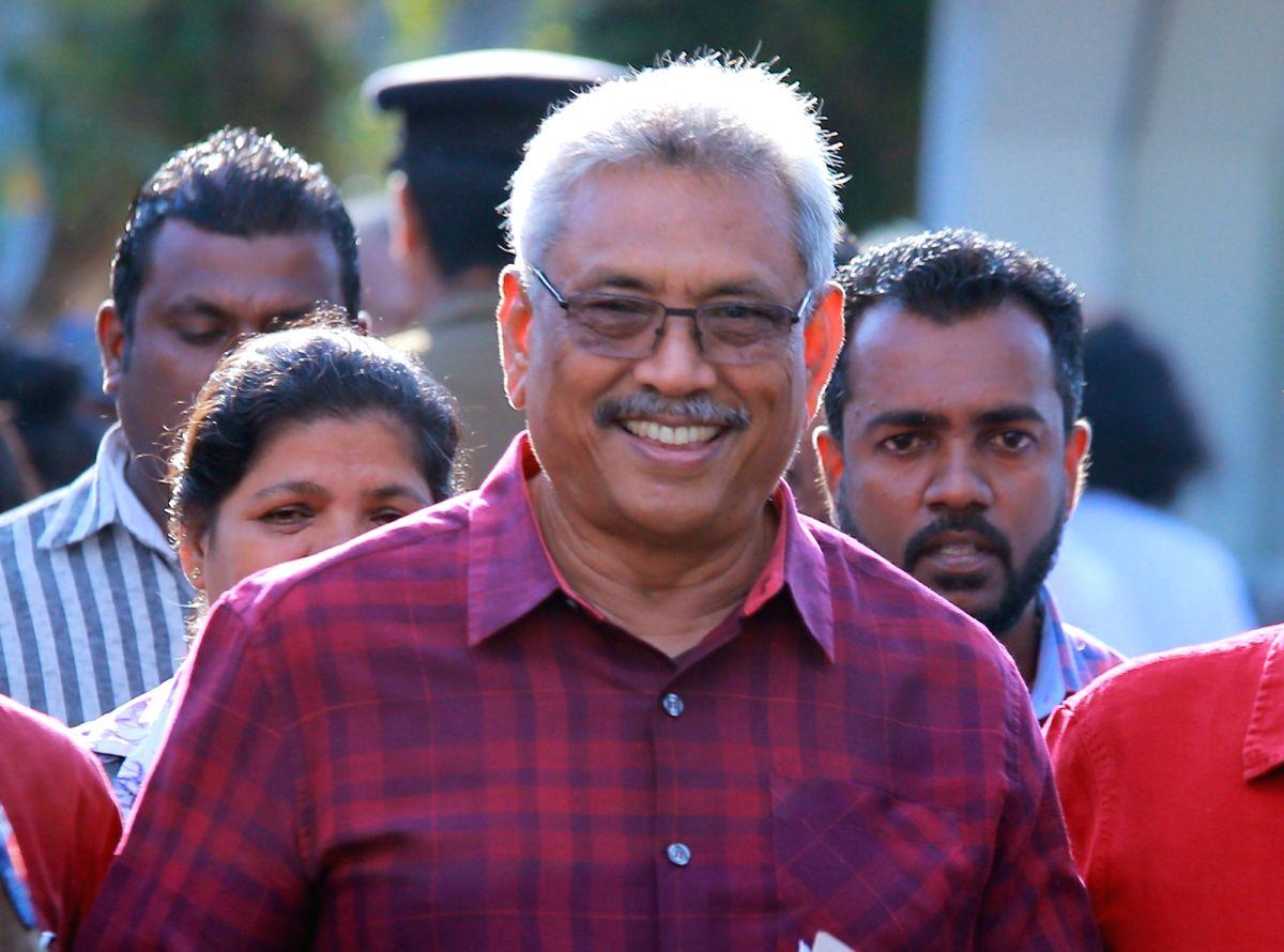 Gotabaya Rajapaksa. (File Photo: IANS)