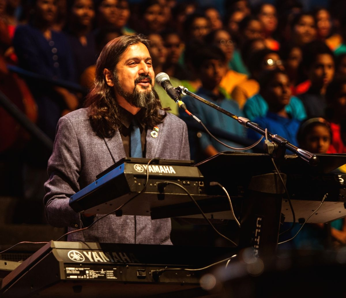 Grammy Award-winning Indian musician and environmentalist Ricky Kej.