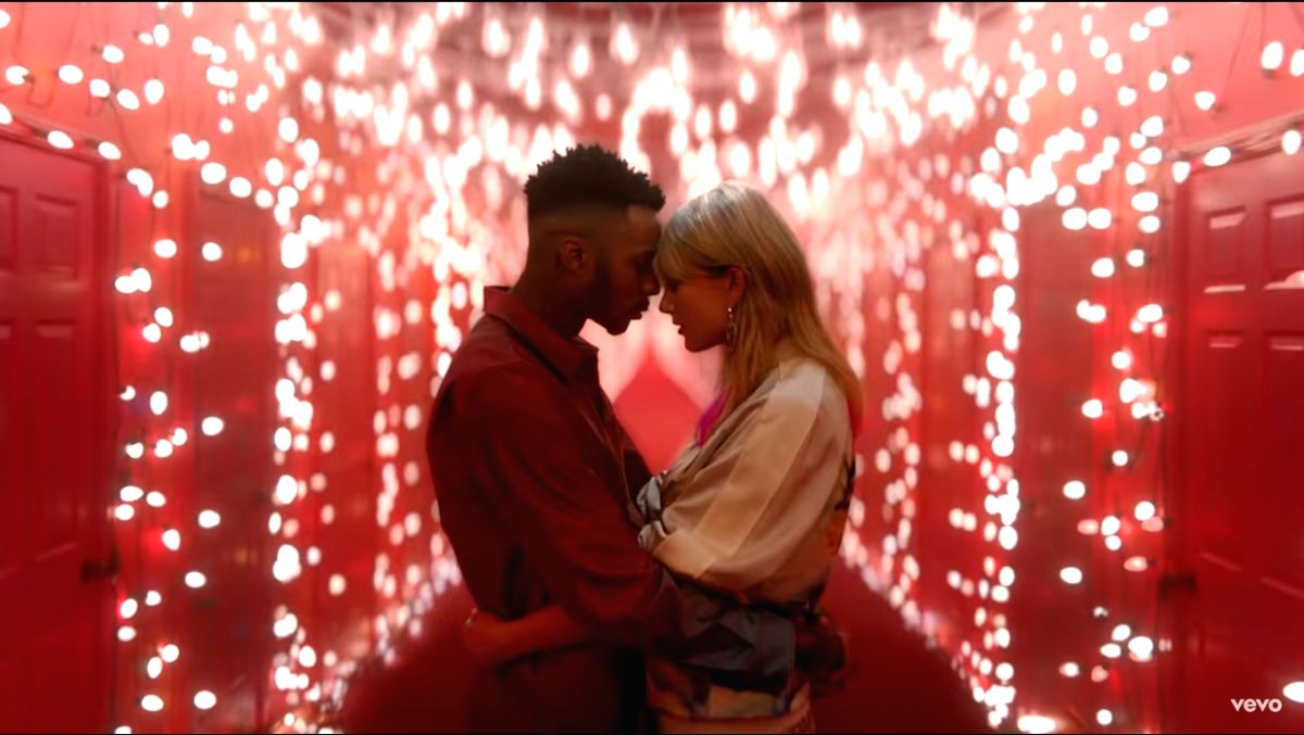 """Grammy winner Taylor Swift has unveiled the music video for her latest song """"Lover""""."""