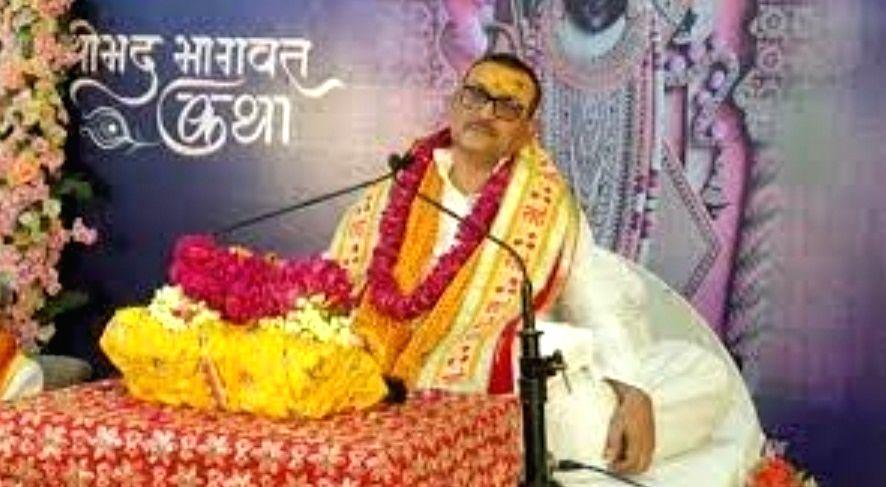 Gupteshwar Pandey, former Bihar DGP, is now Katha Vachak.