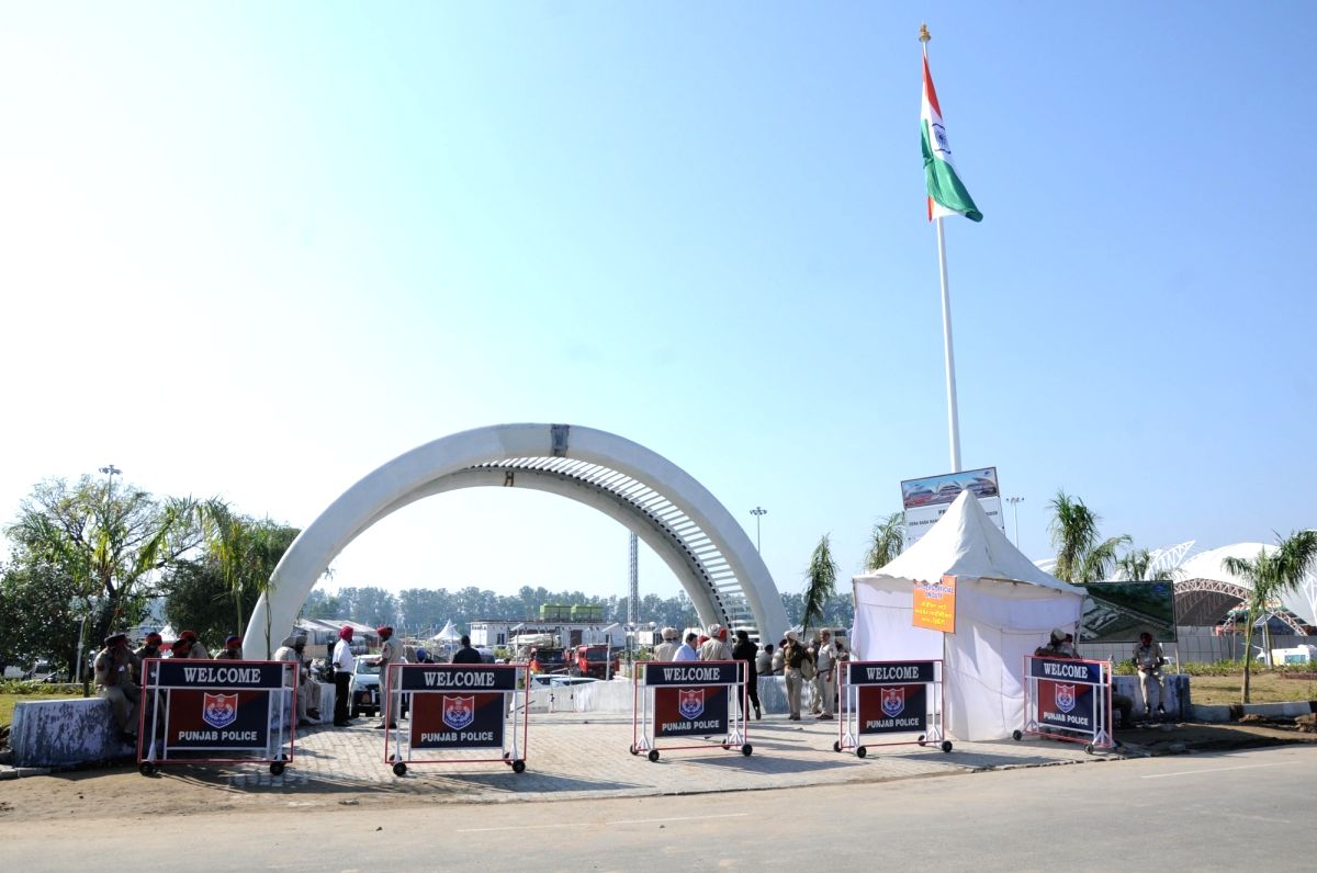 Gurdaspur: The Integrated Check Post (ICP) of the Kartarpur Corridor at Dera Baba Nanak in Gurdaspur, Punjab inaugurated by Prime Minister Narendra Modi on Nov 9, 2019.