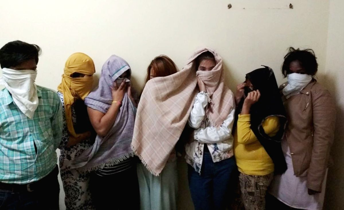 Gurugram: The six women, including two foreigners, and a man who were arrested by police for operating a sex racket from a Gurugram spa. After a tip-off, Haryana Police on Saturday night raided the Auwa Thai spa centre in the Central Plaza Mall on Go