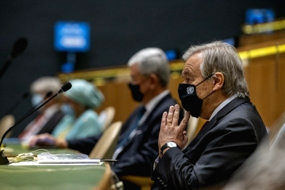 Guterres calls for global solidarity on UN Day