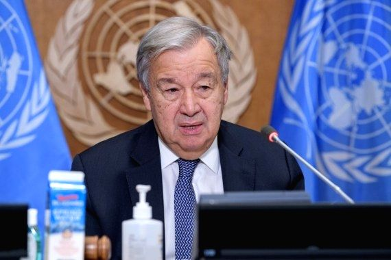 Guterres urges rich states to deliver $100bn for climate action