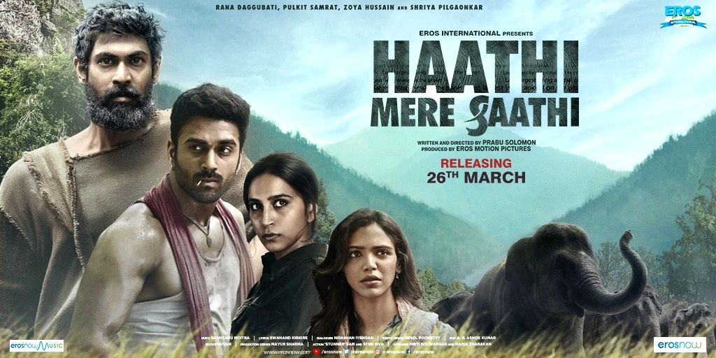 Haathi Mere Saathi trailer to be out on March 4  (credit: @RanaDaggubati/Twitter)