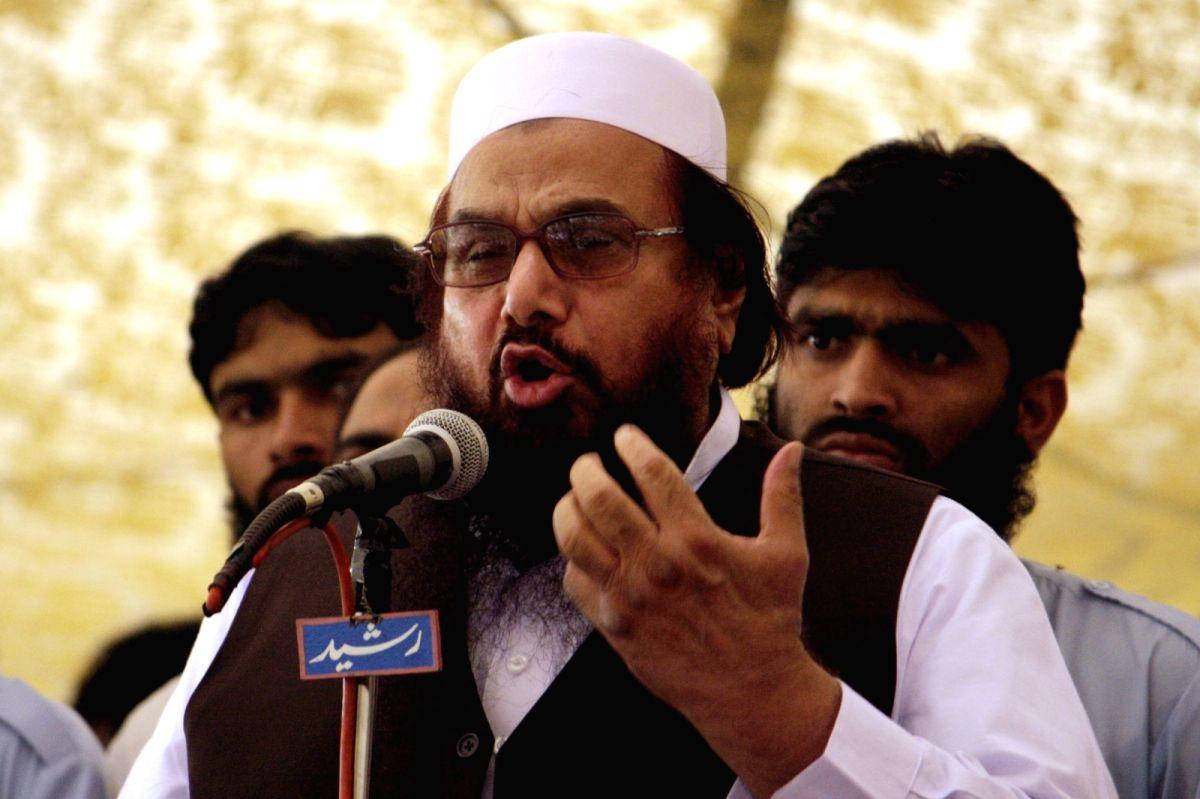 Hafiz Saeed. (File Photo: IANS)