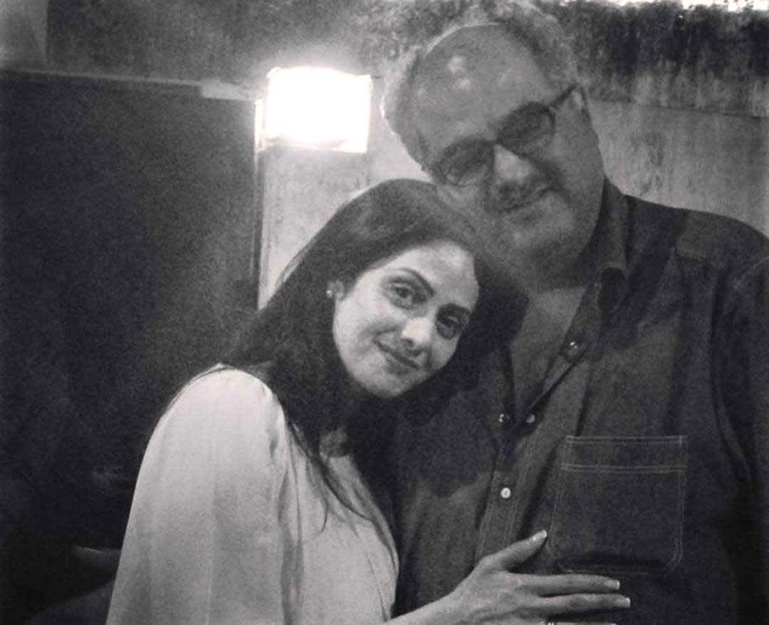 'Happy anniversary': Daughter Janhvi wishes late Sridevi and Boney Kapoor.