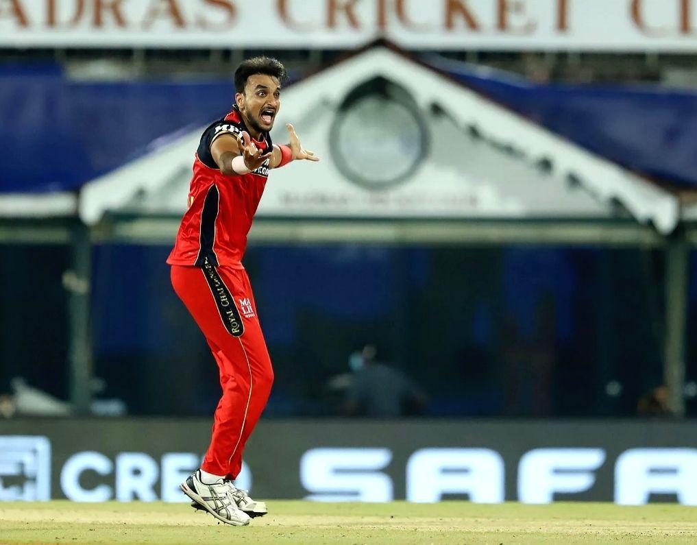 Harshal Patel of Royal Challengers Bangalore ( Credit : BCCI/IPL Twitter)