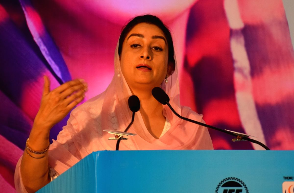 Harsimrat Kaur Badal. (Photo: IANS/PIB)