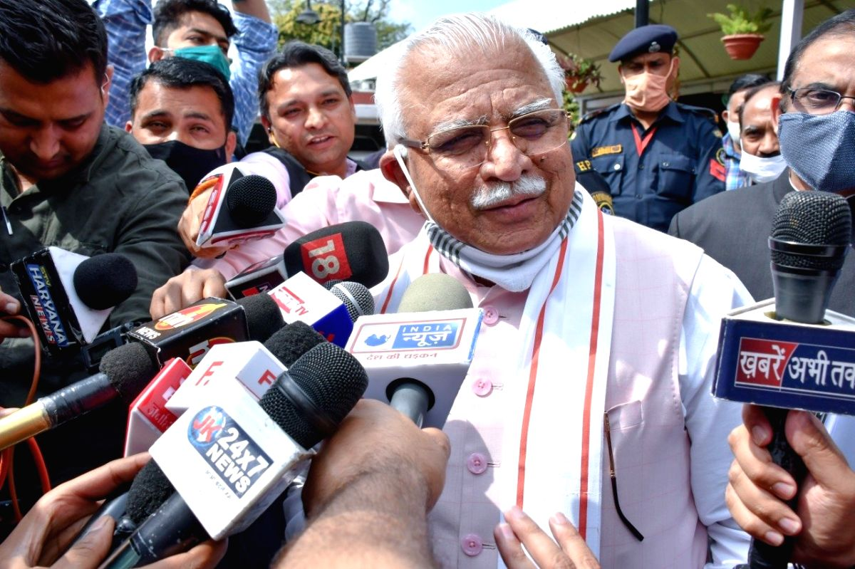Haryana Chief Minister Manohar Lal Khattar on Friday presented a deficit Budget of Rs 1.55 lakh crore for the financial year 2021-22 with no provision of tax. (Twitter)