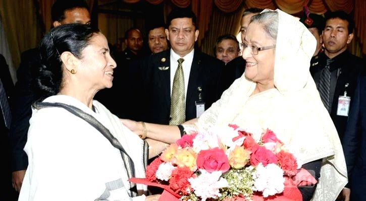 Hasina sends gifts to Mamata for Durga Puja.