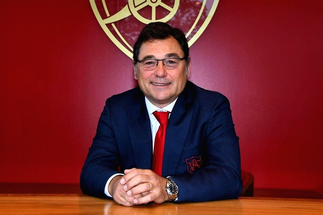 Head of Football Raul Sanllehi