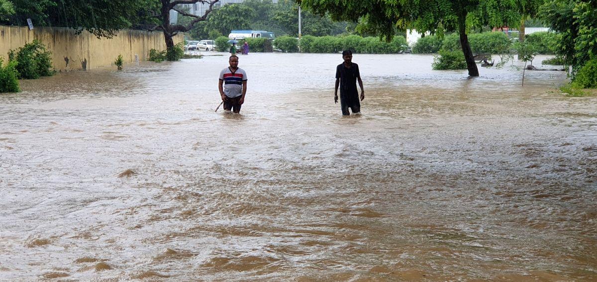 Heavy rain lashes several parts of Odisha