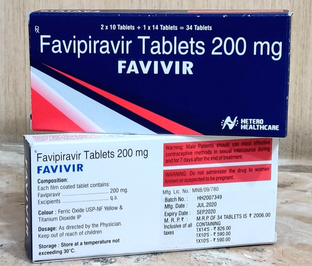 Hetero launches Favivir to treat mild to moderate Covid symptoms