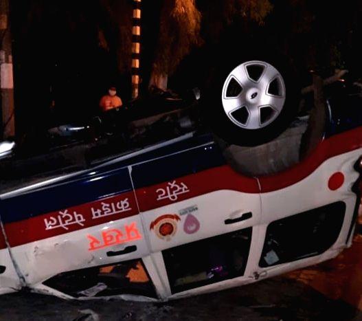 Honda city rams into Prakhar vehicle near khalsa college, HC dies