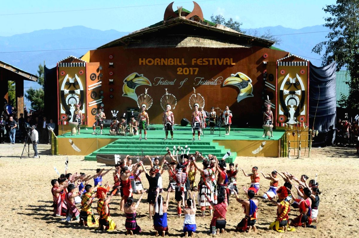 Hornbill Festival opens window to Nagaland culture. (Photo: IANS/RB)