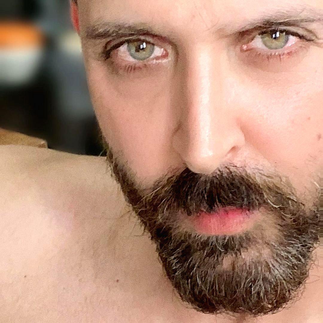 Hrithik Roshan's beard chronicle.
