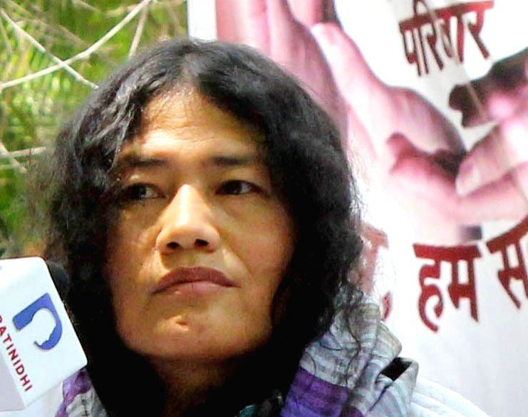 Human rights activist Irom Sharmila Chanu