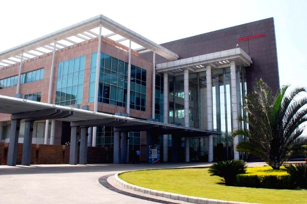 Hyderabad: A view of the Hyderabad Campus of Tech Mahindra where Cisco Digital Network Architecture has been successfully deployed, on May 30, 2019.