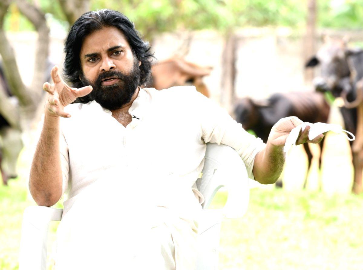 Hyderabad: Actor Pawan Kalyan. (File Photo: IANS)