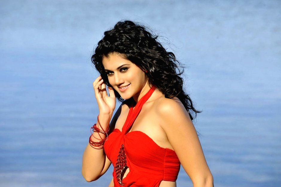 Hyderabad: Actress Taapsee Pannu.