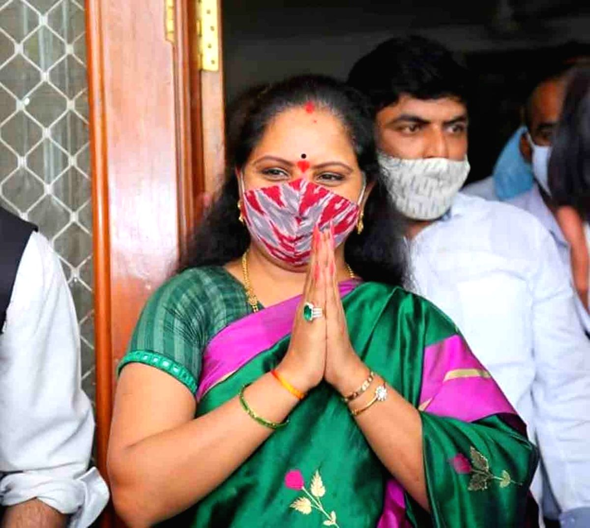 Hyderabad: After a hibernation of more than a year following her shocking defeat in Lok Sabha elections, Telangana Chief Minister K. Chandrasekhar Raos daughter K. Kavitha returned to active politics with her election to the State Legislative Council