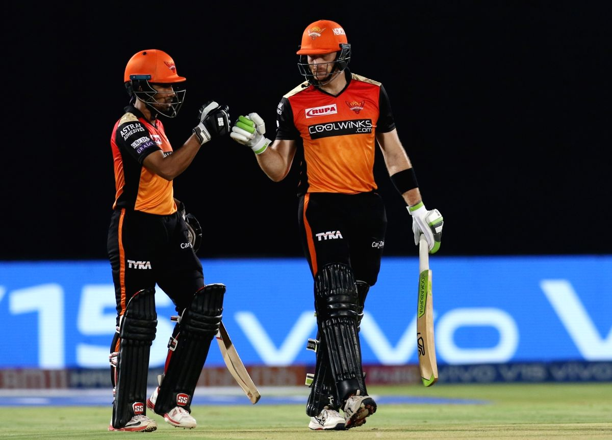 Hyderabad stay afloat after Rashid, Saha star in win