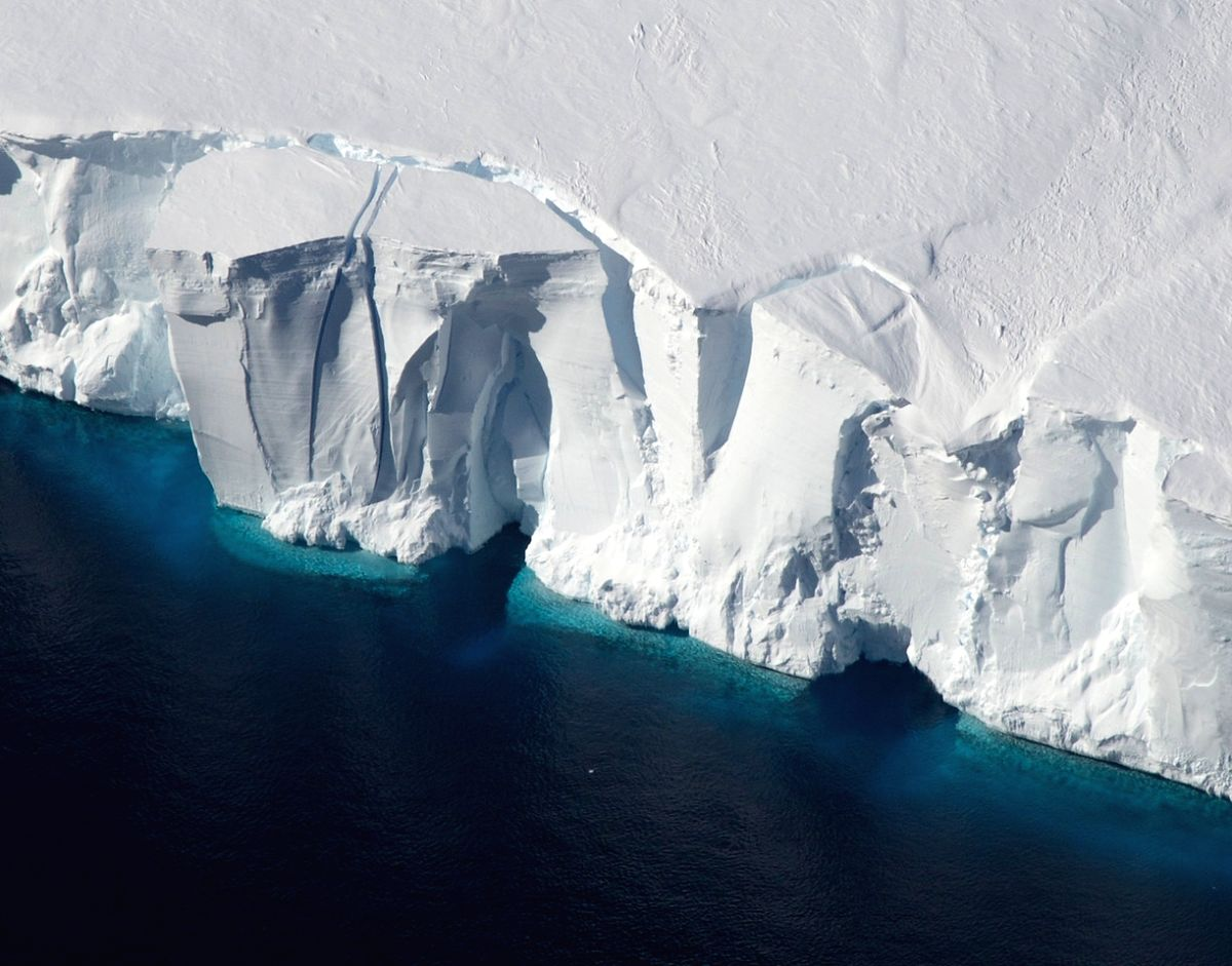 Ice shelves in Antarctica, such as the Getz Ice Shelf seen here, are sensitive to warming ocean temperatures. Ocean and atmospheric conditions are some of the drivers of ice sheet loss that scientists considered in a new study estimating additional g