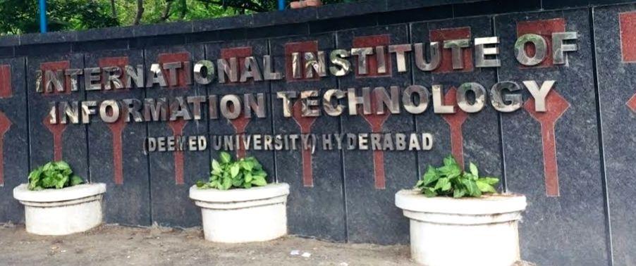 IIIT Hyderabad.