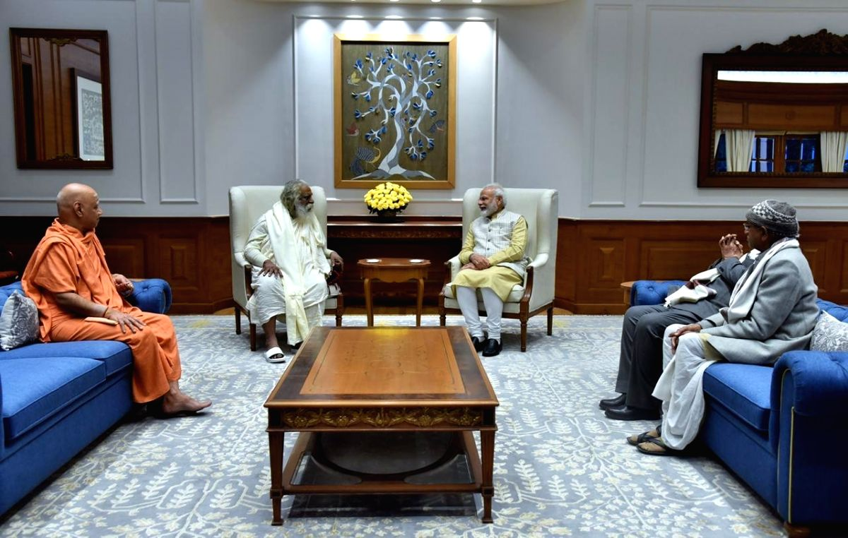 IMAGE for Modi to attend bhoomi pujan ceremony: Temple Trust