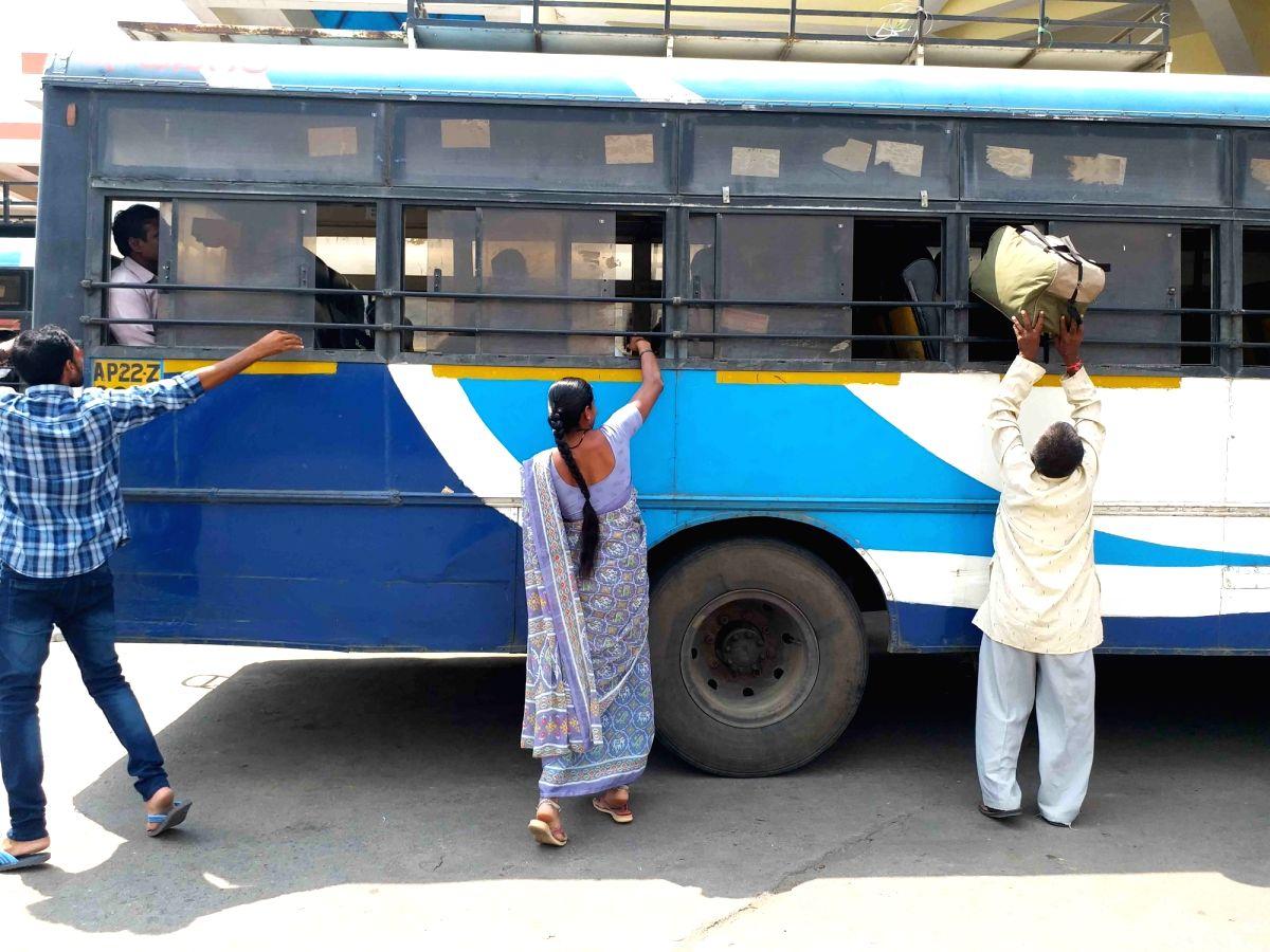 Imlibun Bus Depot, Hyderabad.