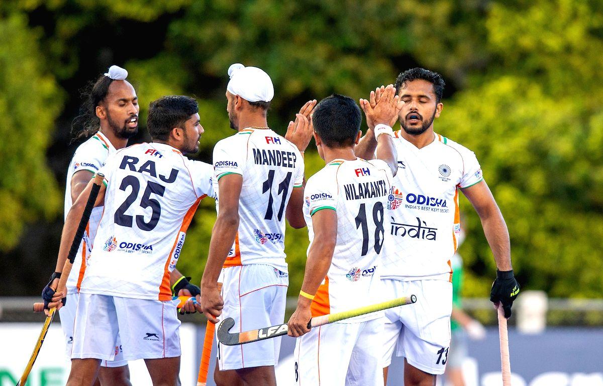 India beat Argentina 3-0 in Pro League.(Credit: Hockey India)