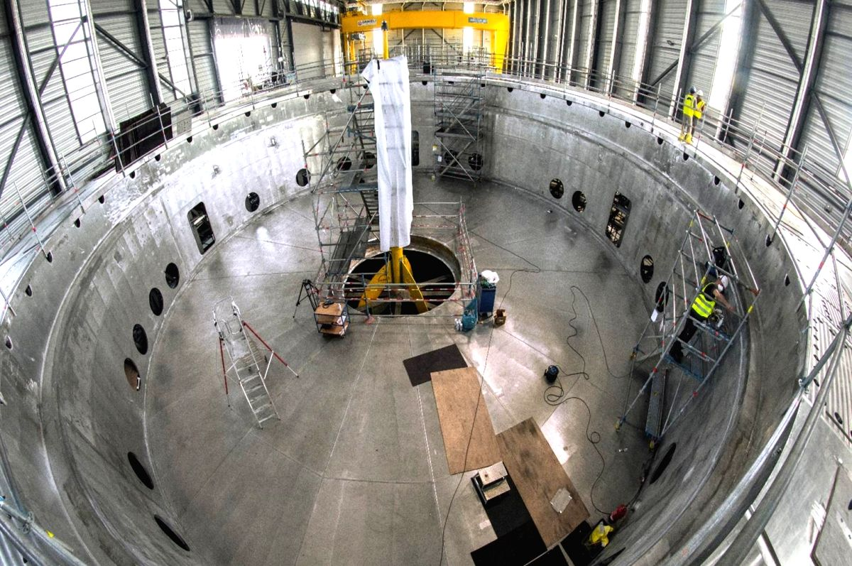 India on Tuesday achieved a key milestone towards realising full fusion power by manufacturing the world's largest high-vacuum pressure chamber -- crucial cryostat -- that is now ready for installation in the $25 billion International Thermonuclear E
