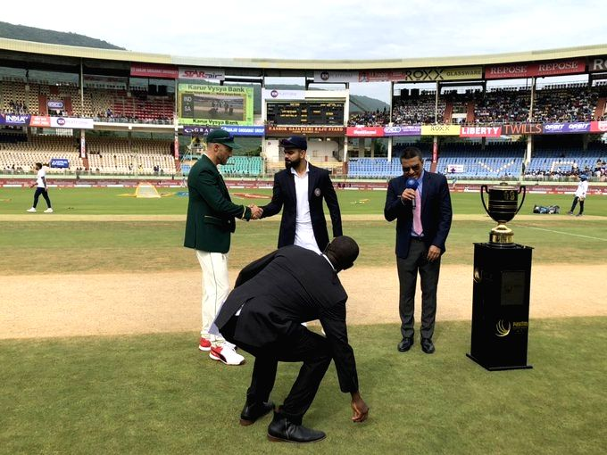 India opt to bat against SA in Vizag Test (Toss)
